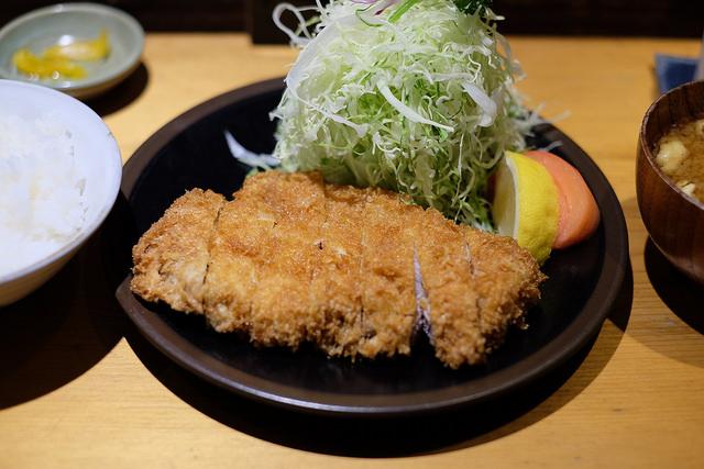 柿の木坂DINNER とんかつ 福長
