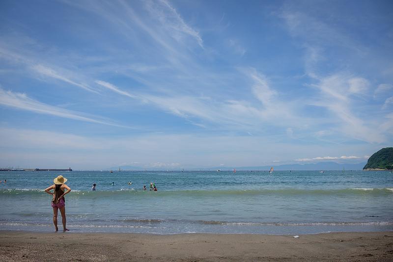 Zushi Beach!