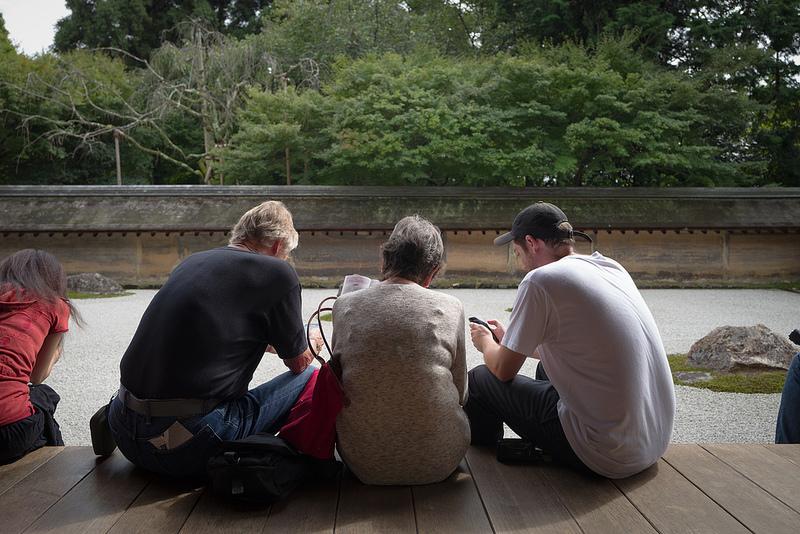 京都 龍安寺 石庭