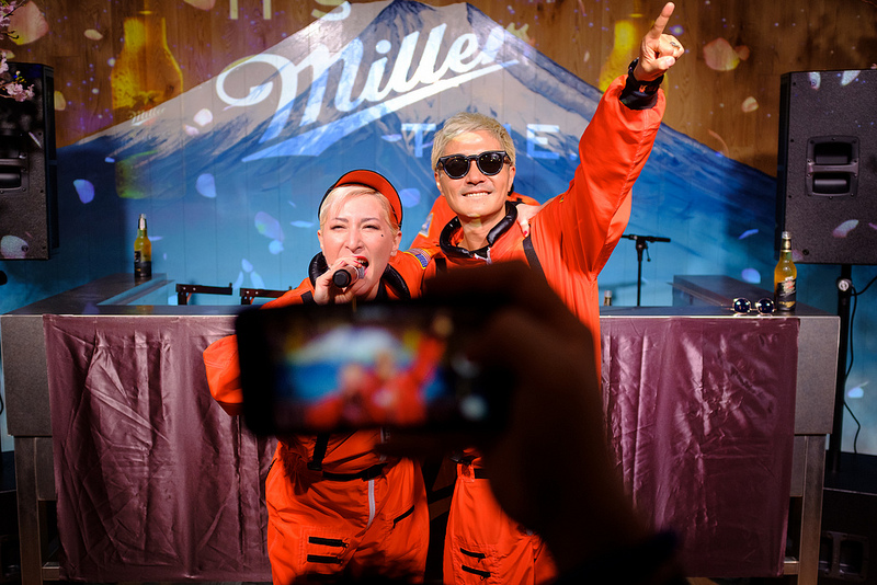 m-flo Presents IT'S Miller TIME -VOL3- 宇宙のお花見 @miller_japan @mflo_official