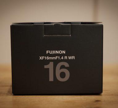 FUJI XF16mm F1.4 キャッシュバックキャンペーンで購入