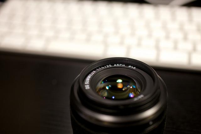 NEWレンズ Pana 25mm F1.4購入! H-X025