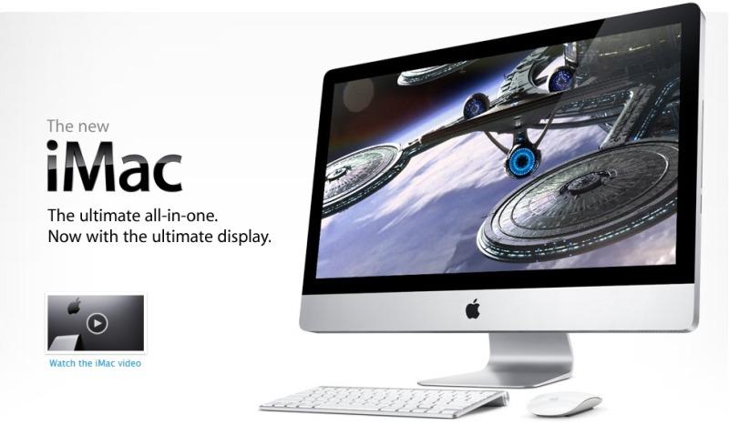 New iMacとMagic Mouse